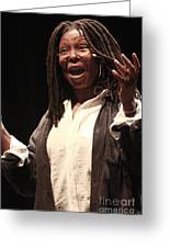 Whoopi Goldberg Greeting Card