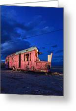 Why Pink Airstream Travel Trailer Greeting Card
