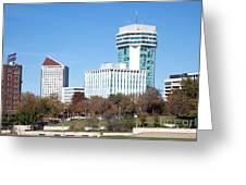 Wichita Skyline Greeting Card