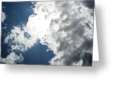 Wicker Clouds Greeting Card