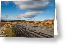 Wicklow In Winter  Greeting Card