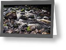 A River In The Wicklow Mountains, Ireland. Vision # 2 Greeting Card