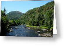 Wide River Greeting Card
