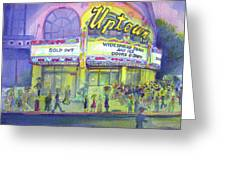 Widespread Panic Uptown Theatre  Greeting Card