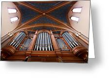 Wiesbaden Marktkirche Organ Greeting Card