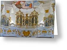 Wieskirche Pipe Organ Greeting Card