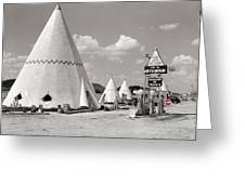 Wigwam Village #2 Coca-cola Sign Marion Post Wolcott  Cave City Kentucky July 1940-2014 Greeting Card