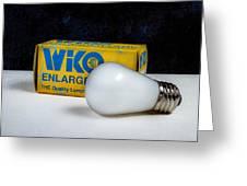Wiko Enlarger Lamp Greeting Card