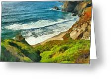 Wild Beach Greeting Card