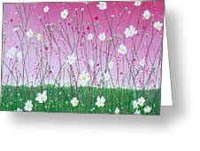 Wild Daisy Field Greeting Card