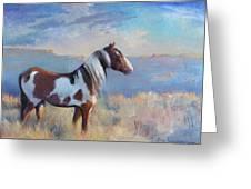 Wild Domain Greeting Card by Gwen Carroll