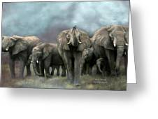 Wild Family Greeting Card