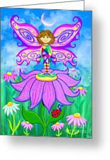 Wild Flower Fairy  Greeting Card