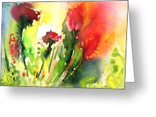 Wild Flowers 09 Greeting Card