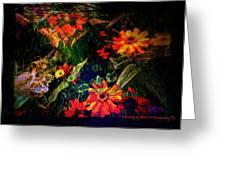 Wild Flowers Greeting Card by Deahn      Benware