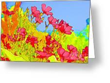 Wild Flowers In Bloom Greeting Card