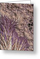 Wild Grasses Blowing In The Breeze  Greeting Card
