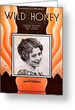 Wild Honey Greeting Card