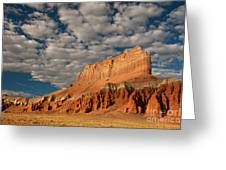 Wild Horse Butte Goblin Valley Utah Greeting Card