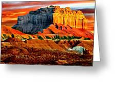 Wild Horse Butte Utah Greeting Card