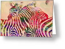 Wild Life 3 Greeting Card by Mark Ashkenazi