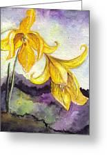 Wild Lilies Greeting Card
