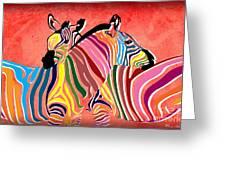 Wild Love  Greeting Card by Mark Ashkenazi