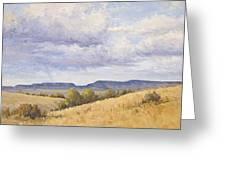 Wild Montana Skies Greeting Card