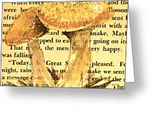 Wild Mushrooms Warm And Subtle Greeting Card