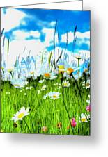 Wild Ones - Daisy Meadow Greeting Card