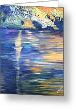 Wild Pond Reflections Greeting Card