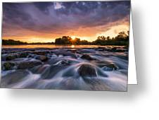 Wild River II Greeting Card by Davorin Mance