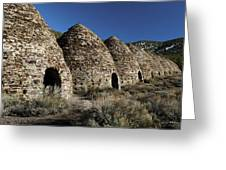 Wild Rose Charcoal Kilns Death Valley Img 4290 Greeting Card