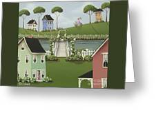 Wild Rose Crossing Greeting Card by Catherine Holman