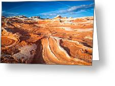 Wild Sandstone Landscape Greeting Card by Inge Johnsson