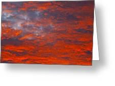 Wild Sky Greeting Card