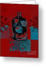 Wild Still Life - 0101a - Red Greeting Card