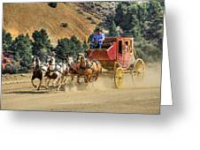 Wild West Ride 2 Greeting Card