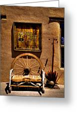 Wild West T-shirts - Old Town New Mexico Greeting Card by David Patterson