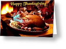 Wild West Turkey Greeting Card
