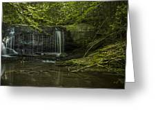 Wildcat Falls Greeting Card