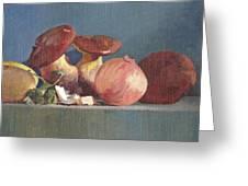 Wilde Mushrooms Greeting Card