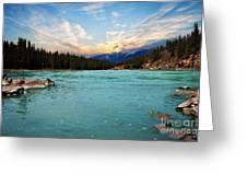 Wilderness Lake  Greeting Card