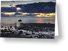 Wilderness Park Sunset Greeting Card