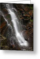 Wilderness Waterfall Dawn Greeting Card