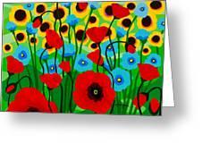 Wildflower Fiesta Greeting Card