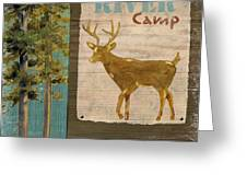 Wildlife Collage I Greeting Card