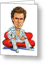 Will Ferrell Greeting Card