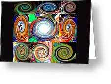 Will It Go 'round In Circles Greeting Card