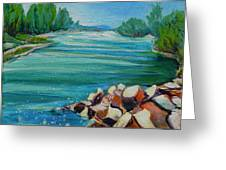 Willamette River 1.2 Greeting Card